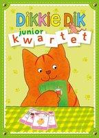 Dikkie Dik spel in blik: Juniorkwartet. 3+