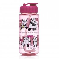Panda's drinkfles (met rietje) / Tyrrell Katz