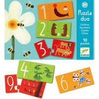 Duo puzzel Nummers / Djeco