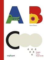 ABC Engels Frans Nederlands (kartonboek) 2+ / Oogappel WPG