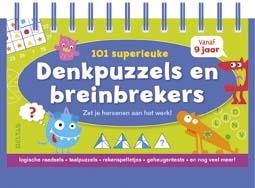 101 superleuke denkpuzzels en breinbrekers 9+ / Deltas