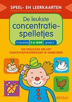 Speel- en leerkaarten - De leukste concentratiespelletjes (5-6 jaar) / Deltas