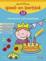 Reuzeleuk speel- en leerblok Allereerste oefenspelletjes (2-3  jaar) / Deltas