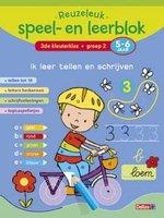 Reuzeleuk speel- en leerblok Ik leer tellen en schrijven  (5-6 jaar) / Deltas