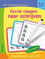 Kaartenset met stift - Eerste stappen naar schrijven (5-6 jaar) / Deltas