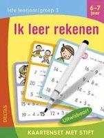 Kaartenset met stift - Ik leer rekenen (6-7 jaar) / Deltas