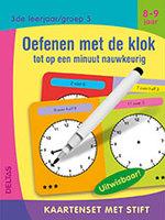 Kaartenset met stift - Oefenen met de klok (8-9 jaar) / Deltas