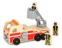 Houten brandweerwagen / Melissa & Doug