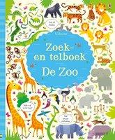 Zoek en telboek De Zoo 5+ / Usborne