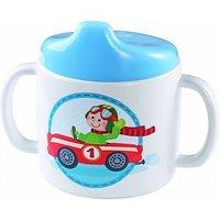 Baby drinkbeker met tuit Snelle sportwagens / HABA