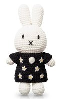 Nijntje handmade en haar zwarte bloemenjurk / Just Dutch