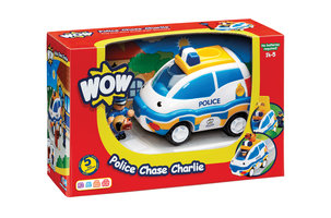 Politieauto Charlie/WOW Toys
