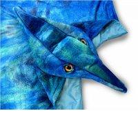 Dinocape Pterodactyl blauw 3-6 jaar / Great Pretenders