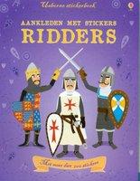 Aankleden met stickers: Ridders. 4+ / Usborne