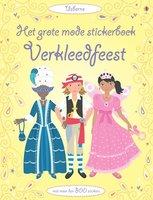 Het grote mode stickerboek: Verkleedfeest 4+ / Usborne