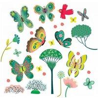 Raamstickers Vlinders / Djeco