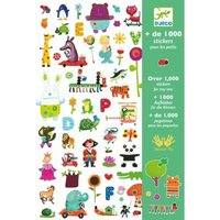 1000 Stickers / Djeco