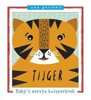 Stoffen knisperboek tijger. 0+ / Ploegsma