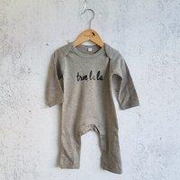 Pyjama grijs Troelala / Raaf10