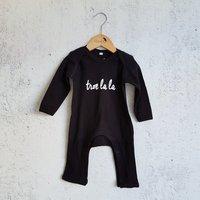 Pyjama zwart Troelala / Raaf10