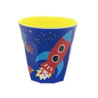 Happy in Space melamine beker (small) / Ginger