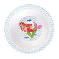 Delightful Mermaid melamine kom met zuignap / Ginger