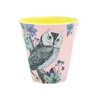 Forest Dreams melamine beker (small) Uil / Ginger