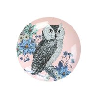 Forest Dreams melamine bord (mini) Uil / Ginger
