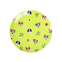 Dogs melamine bord (small) / Ginger