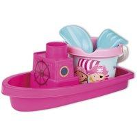 Boot met emmerset piraat (roze) / Androni