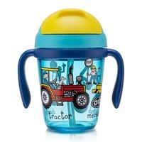 Werkvoertuigen peuter drinkbeker met rietje / Tyrrell Katz