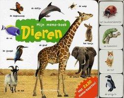 Mijn memo-boek: Dieren (kartonboek). 3+ / Veltman Uitgevers B.V.
