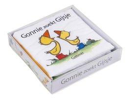 Gonnie zoekt Gijsje (stoffenboek in doosje). 1+ / Gottmer