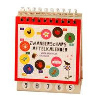 Zwangerschaps aftelkalender / Snor