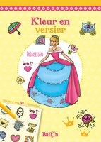 Kleur en versier: prinsessen / Ballon Media