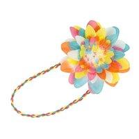 Haarband bonte bloem / Global Affairs