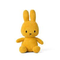 Knuffel Nijntje corduroy geel 24 cm
