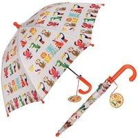 Kinderparaplu Kleurrijke dieren / Rex London