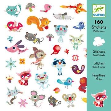 160 stickers kleine vriendjes / Djeco