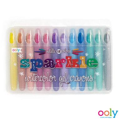 Gelkrijtjes met glitter Sparkle / Ooly