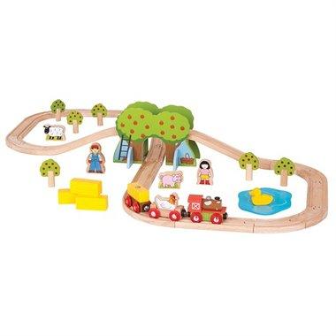 Boerderij Trein Set / BigJigs