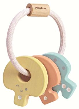 Baby sleutelbos (pastel) / PlanToys
