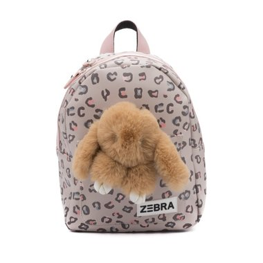 Rugzak (S) - Honey Bunny Leo camel / ZEBRA