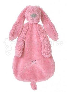 Knuffeldoekje Konijn Deep Pink Rabbit Richie Tuttle / Happy Horse