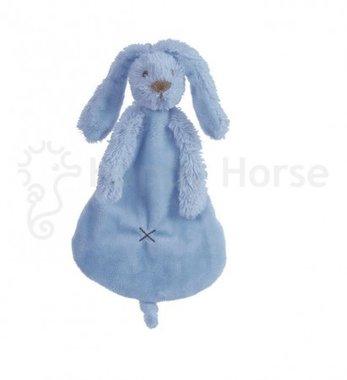 Knuffeldoekje Konijn Deep Blue Rabbit Richie Tuttle / Happy Horse