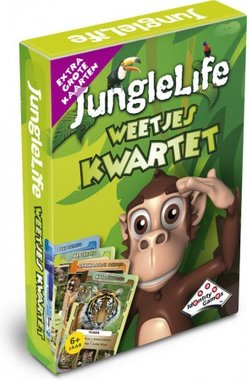 Junglelife Weetjes Kwartet / Identity Games