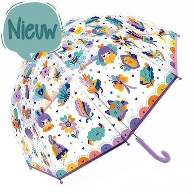 Kinderparaplu Regenboog / Djeco