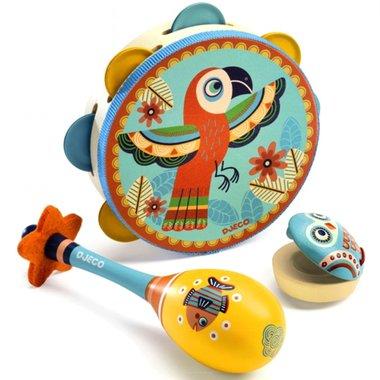 Set van 3 instrumenten Animambo / Djeco