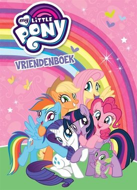 Vriendenboek My little Pony