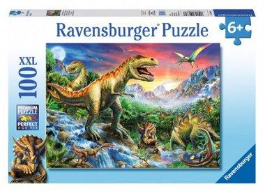 Bij de dinosaurussen (100 XXL) / Ravensburger
